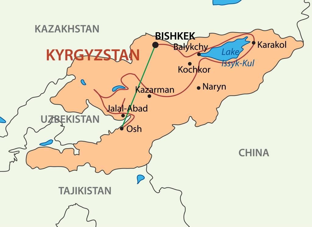 Experience Kyrgyzstan Route