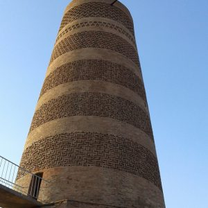 The Burana Tower: a large minaret in the Chuy Valley