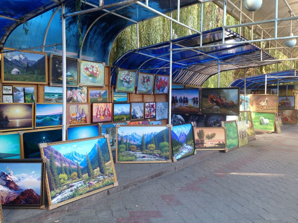 art gallery in Bishkek Kyrgyzstan kirgizie Kirgisistan