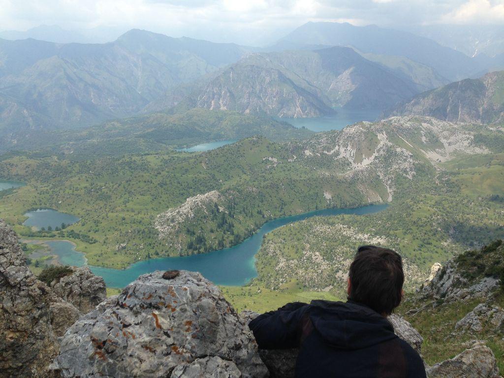 Sary Chelek lake in Kyrgyzstan