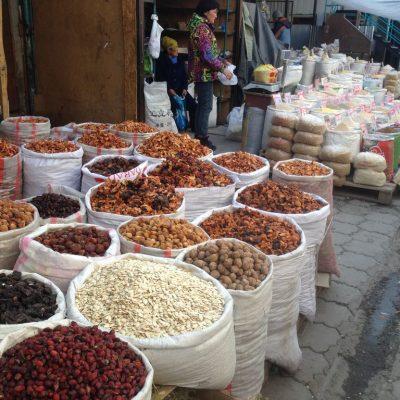 Bazaar Karakol in Kyrgyzstan