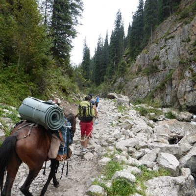Trekking/Hiking Altyn Arashan Kyrgyzstan kirgizie Kirgisistan